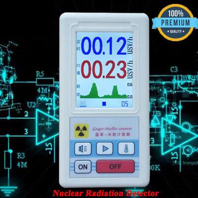 Nuklear Strahlung Detektor Dosimeter Tester Marmor Radiometer Geigerzähler DE