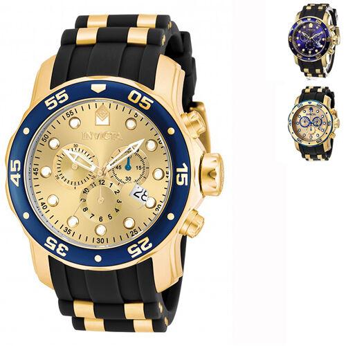 Invicta Men's Pro Diver Quartz Multifunction Chronograph Watch