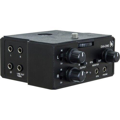 Beachtek DXA-CINE Mini-Plug Audio Adapter for Cinema Cameras