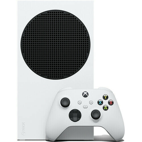 NEW Microsoft Xbox Series S 512GB All-Digital Console Disc-free Gaming White