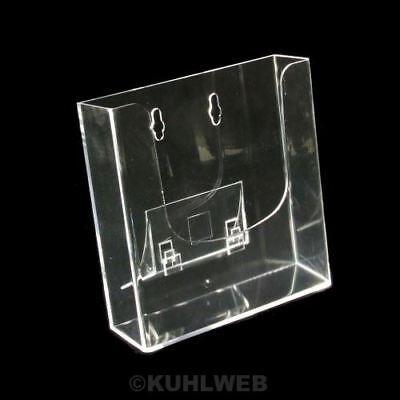 Multifunktions Prospektständer DIN A5, mit Fuß, Hochformat, NEU (2111481A)