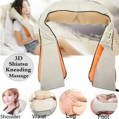 Back and Shoulder Shiatsu Massager Electric Neck Massage Pil