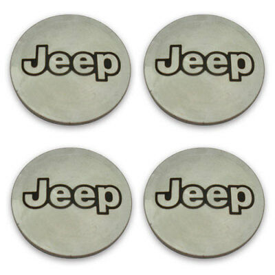Jeep Wheel Center Caps OEM 5CF97L3X Cherokee Compass Wrangler Wheel Set