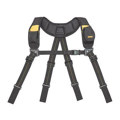 DeWalt DG5132 Pro Professional Heavy-Duty Yoke-Style Padded Tool Belt Suspenders