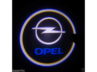 2 x OPEL 3D COB LED DOOR LOGO COURTESY LIGHT LASER GHOST PROJECTOR SHADOW PUDDLE LAMPS