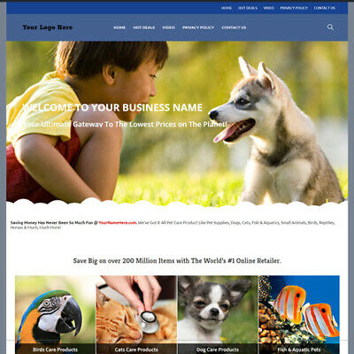 Online Pet Care Store Website Business For Sale Million Item Make Money Fast