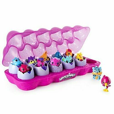 Hatchimals CollEGGtibles 12 Pack Egg Carton Toys For Kids Season 1 Ages 5 Plus