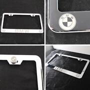 BMW Chrome License Plate