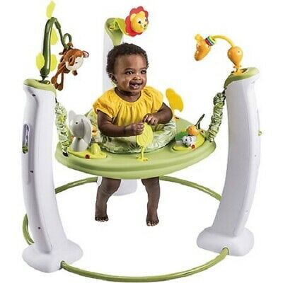 Baby Infant Jumper Saucer Stationary Jumping Seat Swing Exerciser Activity Table