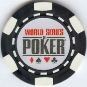 Black Clay Poker Chips