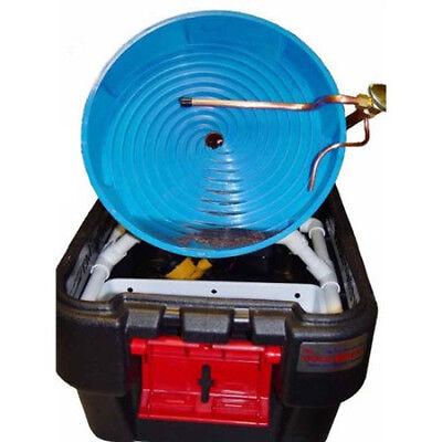 Gold Miner Spiral Panning Wheel Machine With Free Gold Guzzler Bottle