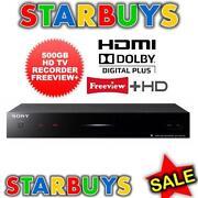 Sony SVR-HDT500
