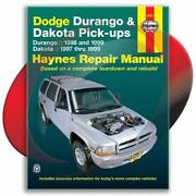 Haynes Repair Manual Dodge