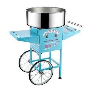 Machine barbe a Papa / Cotton Candy Machine Floss Maker With Cart