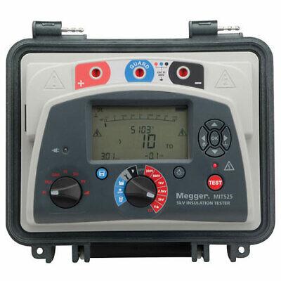 Megger Mit525 1001-940 5 Kv Diagnostic Insulation Resistance Tester