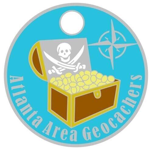 AAG Atlanta Area Geocachers Going Caching 2019 Geocaching Pathtag Geocoin alt