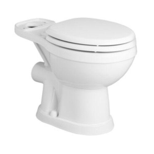 Saniflo 093 Saniflush Rear Discharge Round Toilet Bowl Only - White