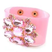 Pink Crystal Stretch Bracelet