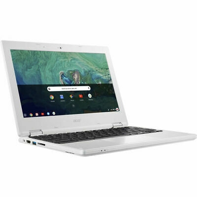 "Acer 11 11.6"" Chromebook Intel Celeron N3060 4GB 32GB Chrome OS - White"