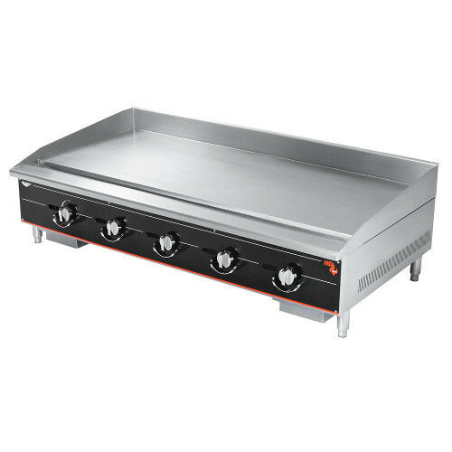 "Vollrath 960ggm 60"" Gas Countertop Cayenne Heavy-duty Griddle - 150,000 Btu"
