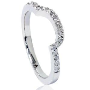 Curved Wedding Band Ebay