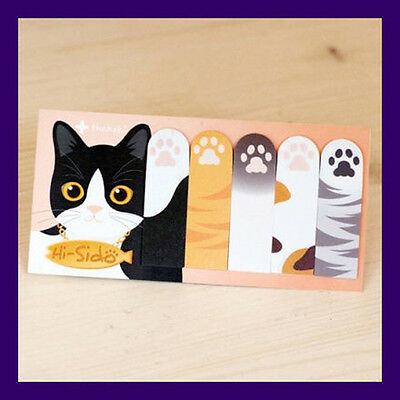 Cute Funny Cat Paw-shaped Decoration Sticky Notes - Hi Sido