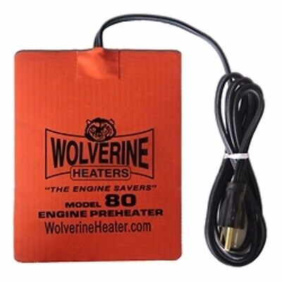 Wolverine 80-120V Engine Heater Oil Pan Heater Tank Heater 1000 Watt 6 x 11.75