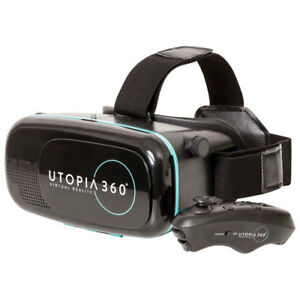 Utopia 360 VR Headset avec Manette Bluetooth NEUF!