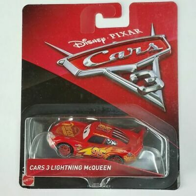 Disney Pixar Cars 3 Lightning Mcqueen Diecast Mattel 1:55 Scale