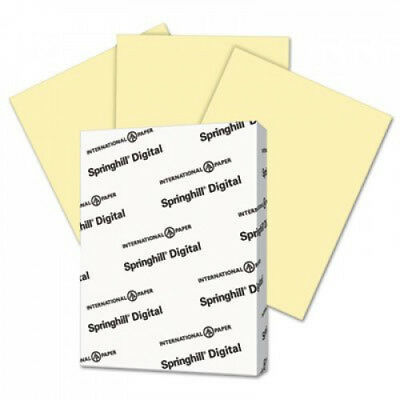 Digital Index Color Card Stock 110 Lb 8 12 X 11 Canary 250 Sheetspack