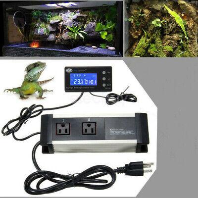 Us Plug Temperature Humidity Controller Thermostat Aquarium Fish Tank Reptile