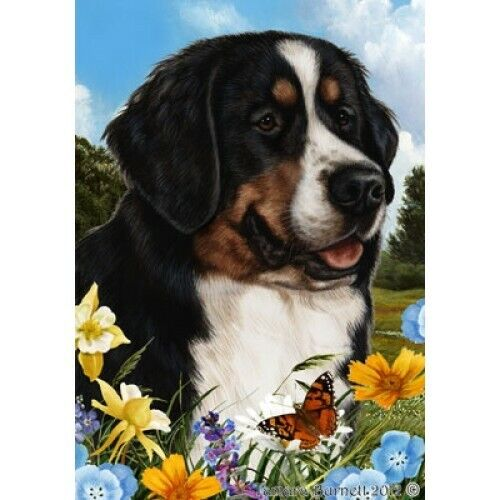 Summer House Flag - Bernese Mountain Dog 18051