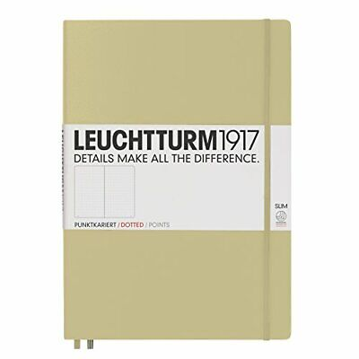 Leuchtturm1917 Slim Master Hardcover Notebook 9 X 12.5 Inches 121 Dotted Pages