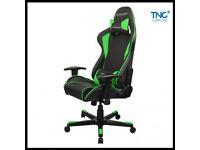 DXRACER F Series FD101 NE Black/green. Gaming chair, computer chair.