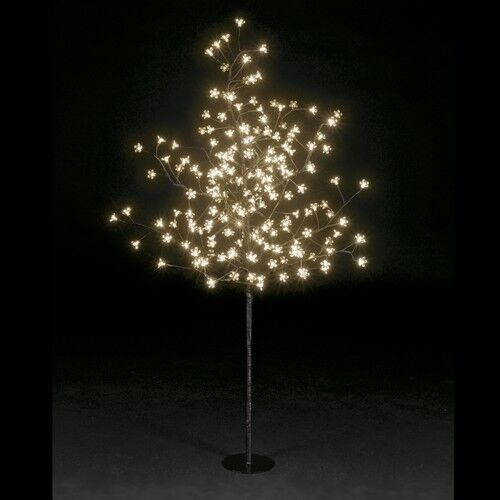 1.5m/5ft Snowtime 200 LED bulbs cherry blossom pre lit xmas trees- wedding/party