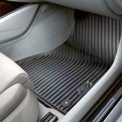 AUDI A7 2012-2018 OEM 4G8061221041 Floor Mat-Rubber - Front Pair (A7 logo) (Audi Front Floor Mat)