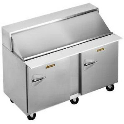 Traulsen Upt6012-rr 60 Refrigerated Counter- Hinged Right- 12 Pan Capacity