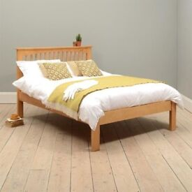 Oakley Pine Double Bed 4ft 6 High Quality - Pine Furniture Range