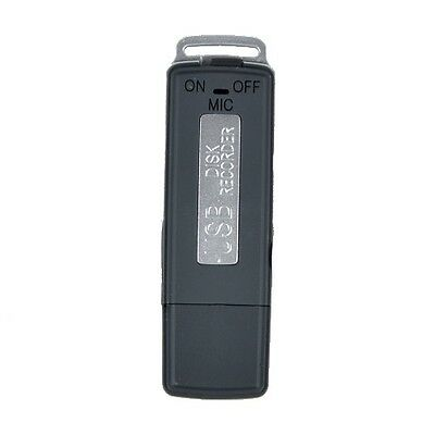 USB Digital Audio Voice Recorder Pen 8GB Disk Flash Drive Recording SK-868