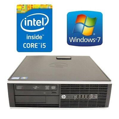 HP Elite 8100 SFF Desktop PC Computer Core i5 650 4G 160G DVDRW Win 7 Pro