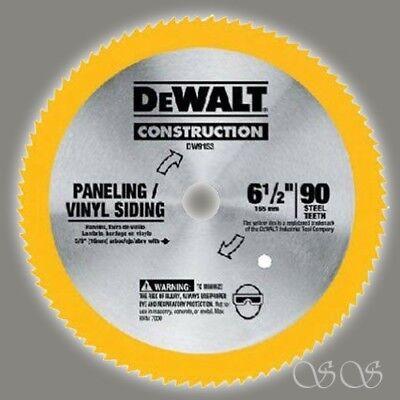 """Dewalt DW9153 Circular Saw Blade, 6-1/2"""" X 0.039""""T,90 Teeth,"""