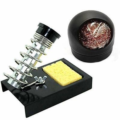 Liyafy Soldering Iron Holder Solder Iron Stand Black Base And 1pc Ball Shell ...