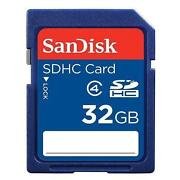32GB SDHC Flash Memory Card