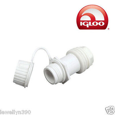 Genuine Igloo Cooler Replacement Threaded Drain Plug