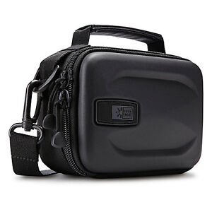 Case Logic EHC-103 Hard Shell Compact Camcorder Case Bag Black