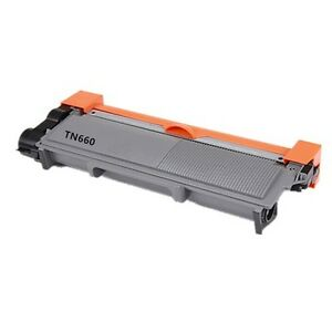 Brother TN660 Black Toner Cartridge, Compatible High Yield