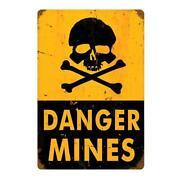 Danger Sign Metal