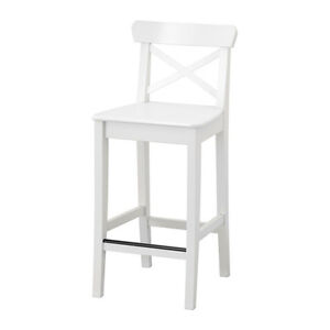 Ikea Bar Stools with backgrest