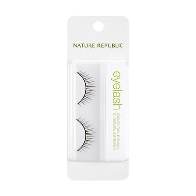 [NATURE REPUBLIC] Beauty Tool Eyelash - 1pack (2pcs) #01 Natural & Straight