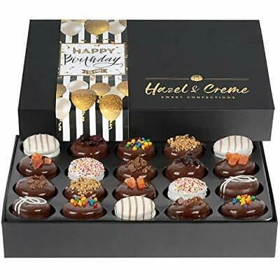 Birthday Food Gift Baskets - Happy Birthday Cookies - Extra Large Gift Box